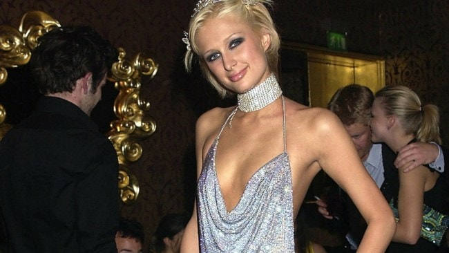 Paris Hilton at her 21st birthday party. Photo: Getty