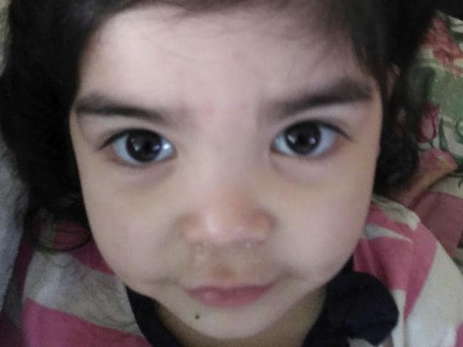 Alyssa Salgado has accused workers at a daycare centre of waxing her daughter's eyebrows.