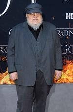 """NEW YORK, NEW YORK - APRIL 03: George R. R. Martin attends the """"Game Of Thrones"""" Season 8 Premiere on April 03, 2019 in New York City. Dimitrios Kambouris/Getty Images/AFP == FOR NEWSPAPERS, INTERNET, TELCOS & TELEVISION USE ONLY =="""