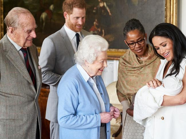 The Queen and Prince Philip were among the first to meet Archie.