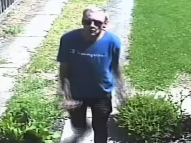 Police are hunting for the strange thief. Picture: 9 News