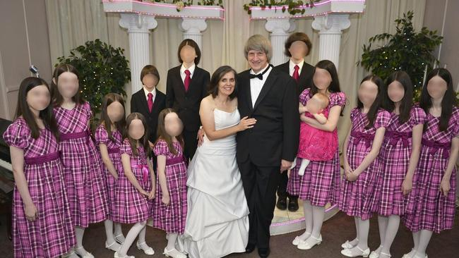 David Allen Turpin, 57, and Louise Anna Turpin, 49, have been arrested after their 13 children were found imprisoned and emaciated in their California home. Picture: Supplied