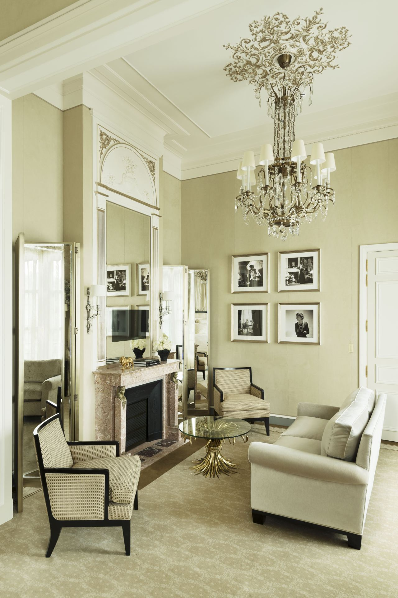 Inside the hotel Coco Chanel called home