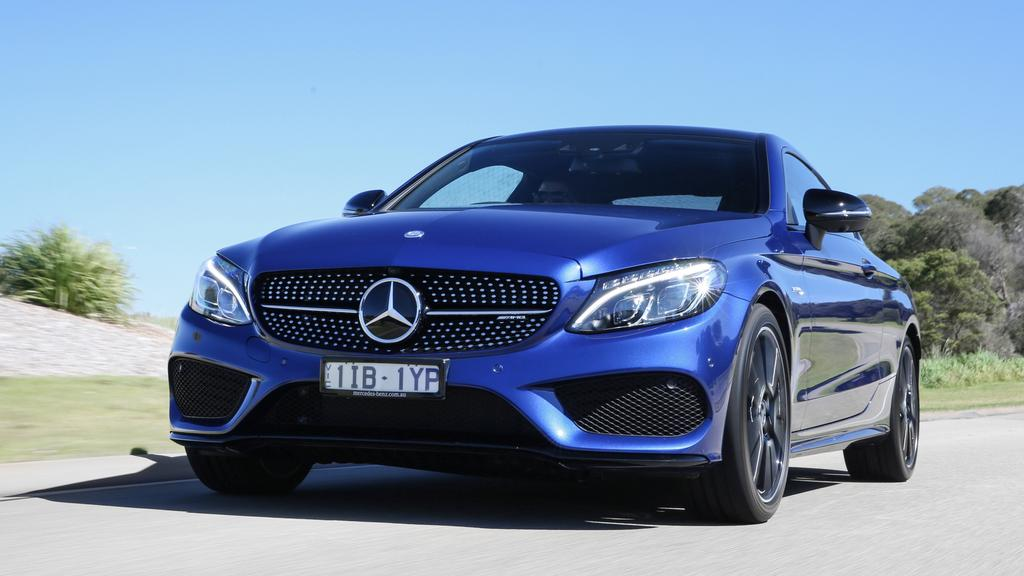The Mercedes-AMG C43 is more mild than wild.