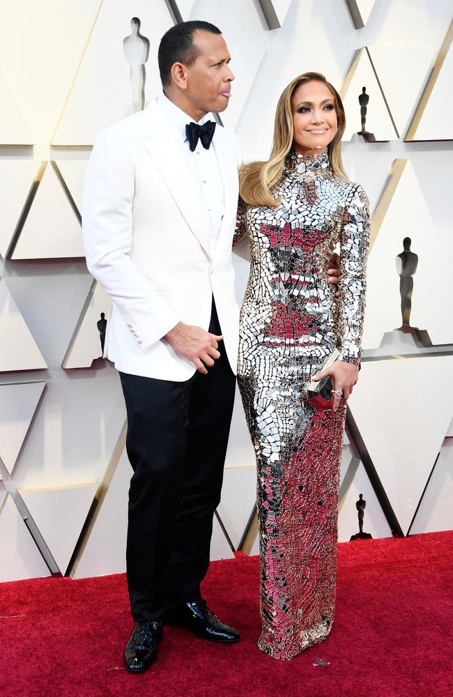 A Rod and J Lo hit the Oscars red carpet.
