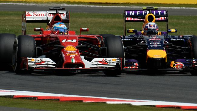 Alonso and Vettel's scrap was the highlight of the race.
