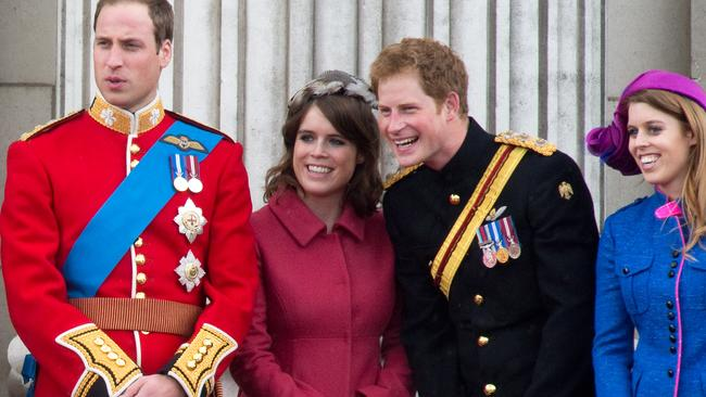 Like William and Harry Eugenie's name will change when she marries but she won't be given a dukedom