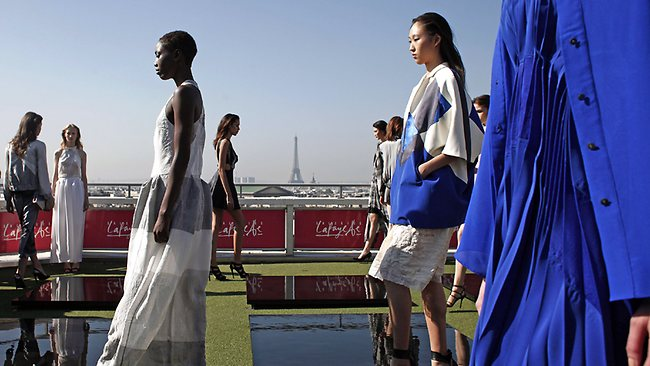 Catwalk with a view as Paris Fashion Week kicks off with