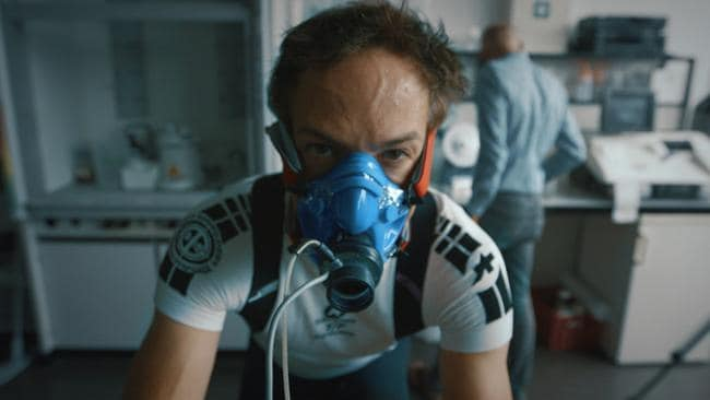 Bryan Fogel in Icarus.