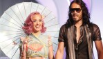 Katy Perry and Russell Brand in happier times. Photo: Getty