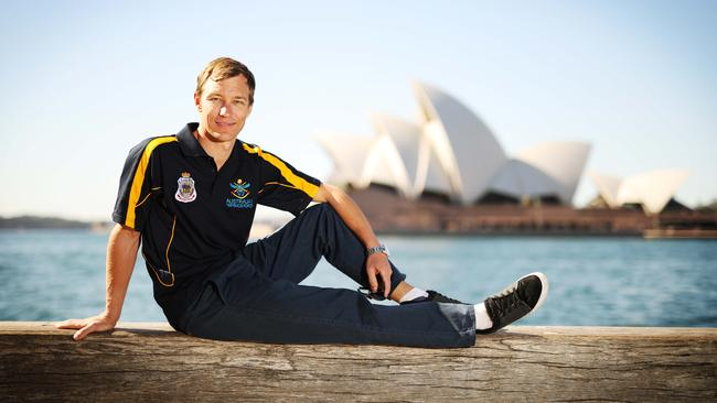 Tom Foster is a member of the Australian Invictus Games team. Picture: Adam Taylor