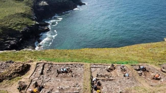 Excavations are carried out at the site. Picture: English Heritage