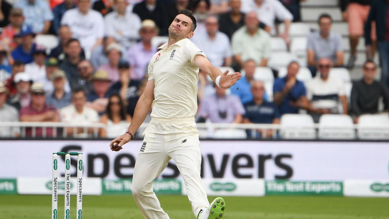 James Anderson is just six wickets away from equalling Glenn McGrath's Test wickets record.