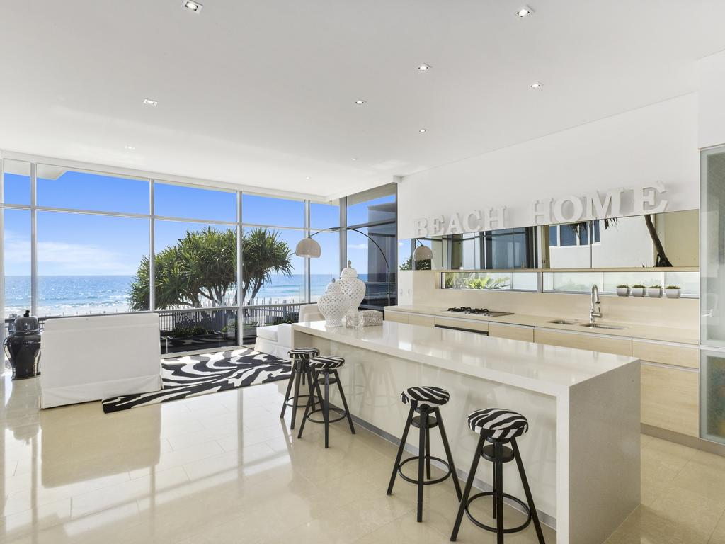 "<span class=""h2"">MERMAID BEACH</span> 1/101 Albatross Ave, Mermaid Beach. PRICE: $3.15 million SOLD: January 29, 2016 AGENT: Sophie Carter, Sophie Carter Exclusive Properties THIS luxury Mermaid Beach apartment was once a holiday home to former controversial executive Matthew Perrin. The entertaining area overlooks the communal pool below while other features include porcelain tiles in the high traffic areas and a master suite with walk-in wardrobe and an ensuite. In addition to three bedrooms, there is also a study and basement parking for two cars."