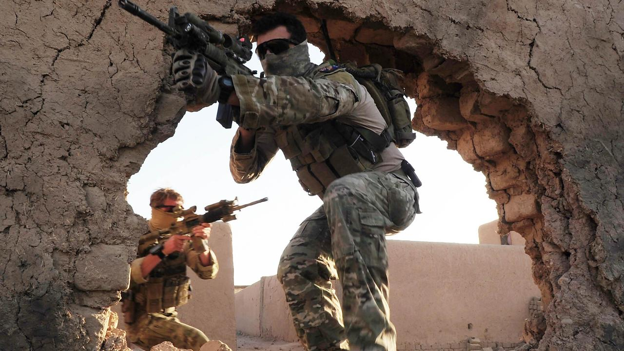 Special Operations Task Group soldiers in Afghanistan. Picture: Corporal Chris Moore