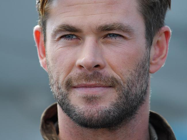 We know our fifth spot ranking was largely thanks to you, Chris Hemsworth. Picture: AAP Image/Steven Saphore