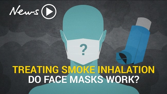 Treating smoke inhalation: do face masks work?
