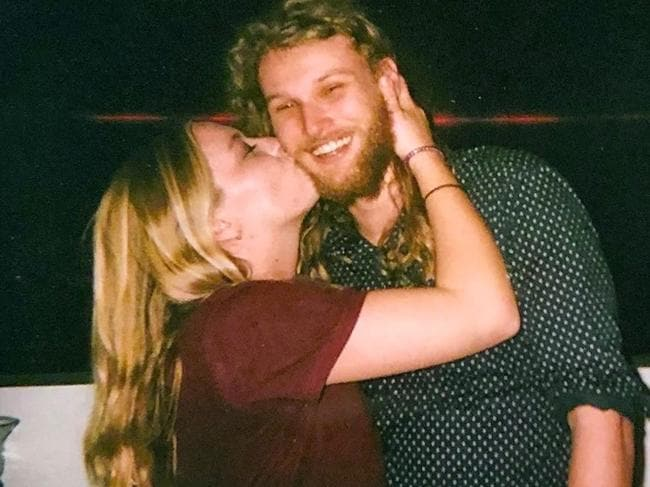 Australian Lucas Fowler and his American girlfriend Chynna Deese were on a dream road trip when they were found shot to death on the Alaska Highway on July 15. Picture: Facebook
