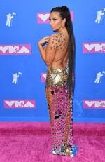 TV personality Elettra Lamborghini attends the 2018 MTV Video Music Awards at Radio City Music Hall on August 20, 2018 in New York City. Picture: ANGELA WEISS / AFP