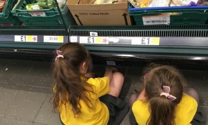 Mum's controversial discipline technique in supermarket goes viral