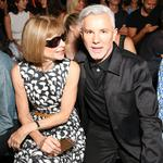 Anna Wintour and Baz Luhrmann attend the Alexander Wang show during New York Fashion Week on September 10, 2016. Picture: Splash