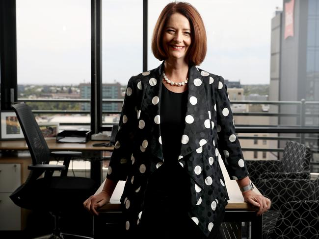 Former Prime Minister Julia Gillard was beaten by Kevin Rudd in a leadership battle, after earlier ousting him. Pic: Calum Robertson