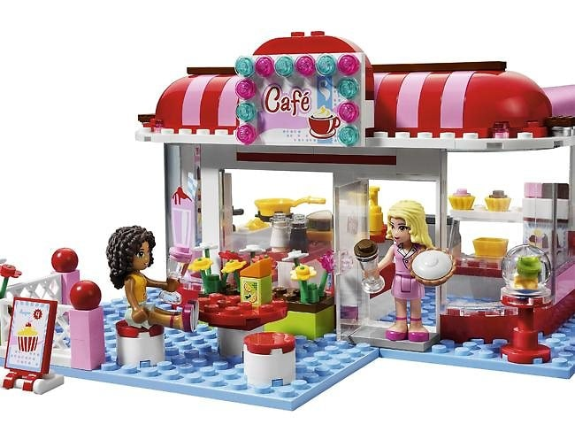 """LEGO has received backlash over its new """"Friends"""" range on Facebook and Twitter. Picture: LEGO"""