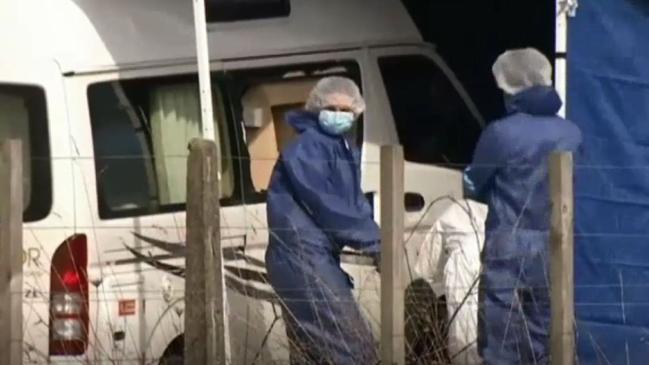 An Australian tourist was found dead in the campervan.