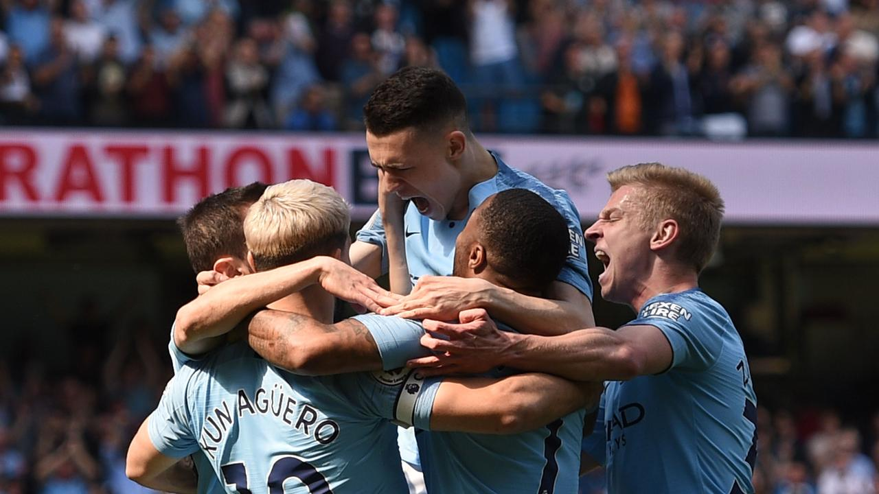 Phil Foden bagged his first Premier League goal