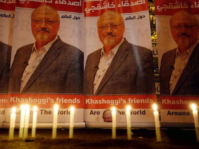There has been global outrage over the death of journalist Jamal Khashoggi. Picture: AP