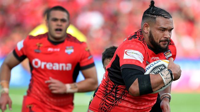 Ben Murdoch-Masila is making an impression at Warrington.