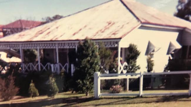 The house at 64 Philip St, Hawthorne, before it was renovated. Pic supplied.