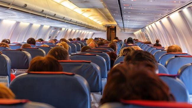 What not to do next time you're on a plane.
