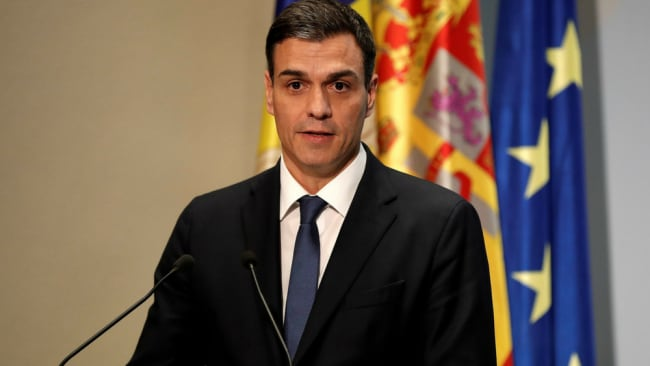 Not only is he a feminist, Spain's new PM is also a total dish. Image: Getty.