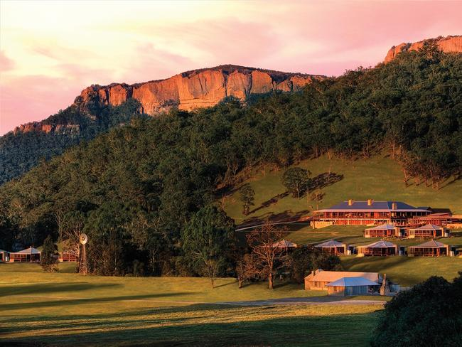 The magnificent Emirates One&Only Wolgan Valley. Picture: One&Only