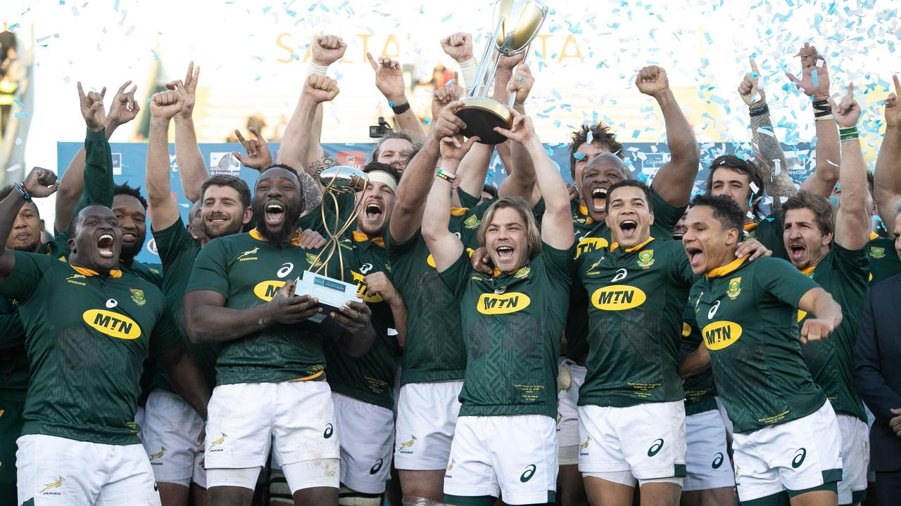South Africa are the current holders of the Rugby Championship.