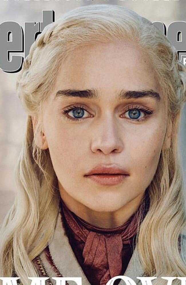 Entertainment Weekly magazine shoot 16 Game of Thrones covers ahead of Season 8. Picture: Entertainment Weekly