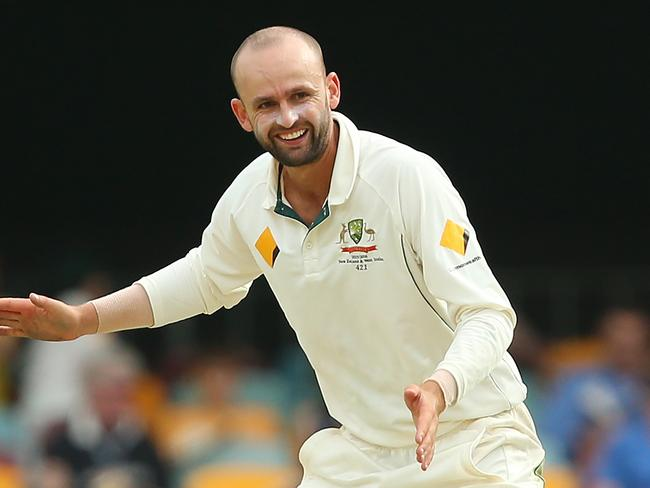 Nathan Lyon took two key wickets on day four.