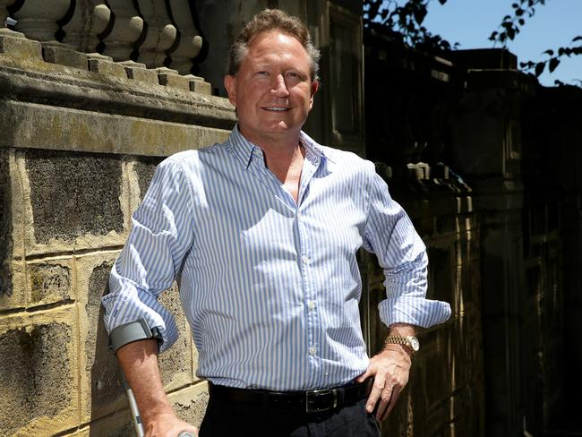 Billionaire miner Andrew Forrest has donated hundreds of millions of dollars for indigenous aid.