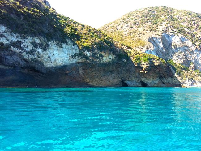 Swimming around the uninhabited island is a serene experience. Picture: Silvia Marchetti