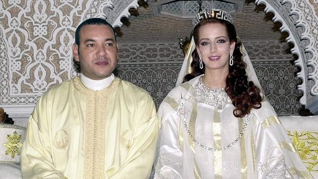 It is widely believed the royals have secretly divorced. Picture: AP Photo/Moroccan government HO