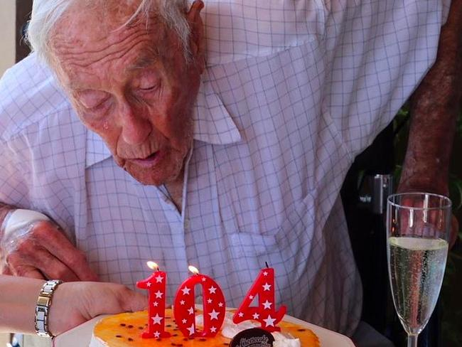 Prof Goodall voluntarily ended his life after 104 years. Picture: AAP Image/Exit International
