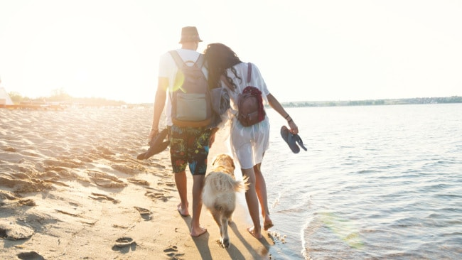 Head out for a walk to get some vitamin D. Image: iStock