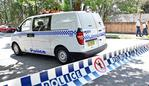 CAMPERDOWN AUSTRALIA - FEBRUARY 18: Police have closed a section of Carillon Ave and set up a crime scene alongside Sydney University at Camperdown Australia. Photo by Troy Snook/News Corp Australia)