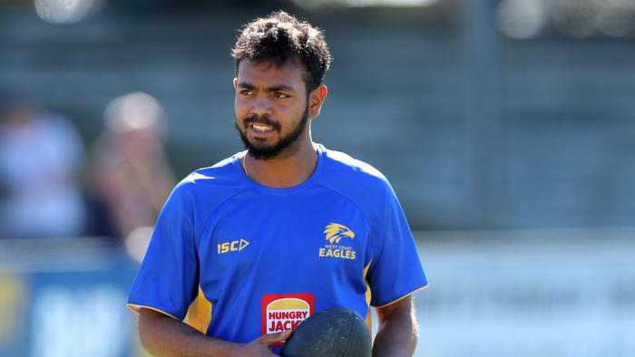 'I'm not hiding anything': West Coast unsure of Willie Rioli outcome — but he's back training