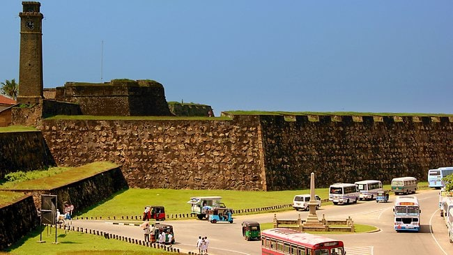 Galle Fort in Sri Lanka. Picture: Calffier001/Flickr