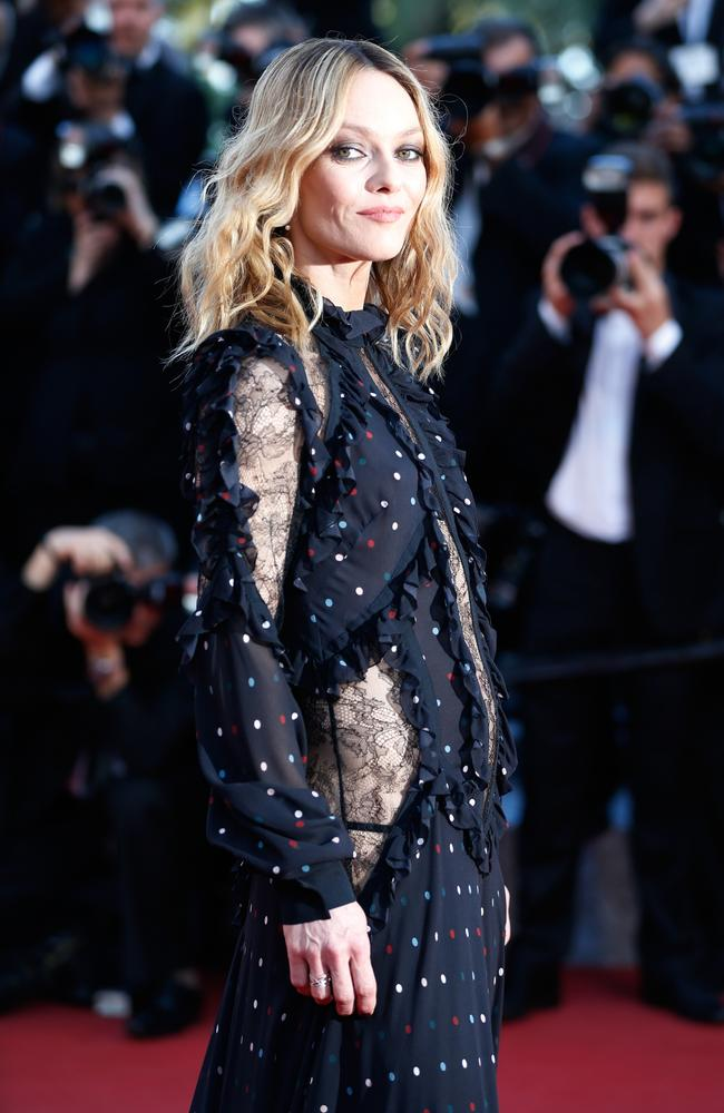 Do I look like Vanessa Paradis yet? Picture: Tristan Fewings/Getty Images