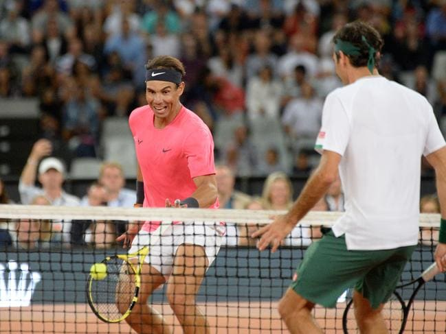 Rafa and Roger went head-to-head once again.