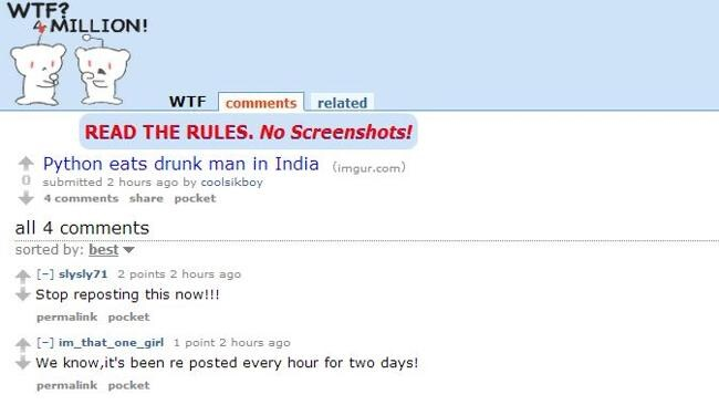 Reddit sleuths take down the hoax.