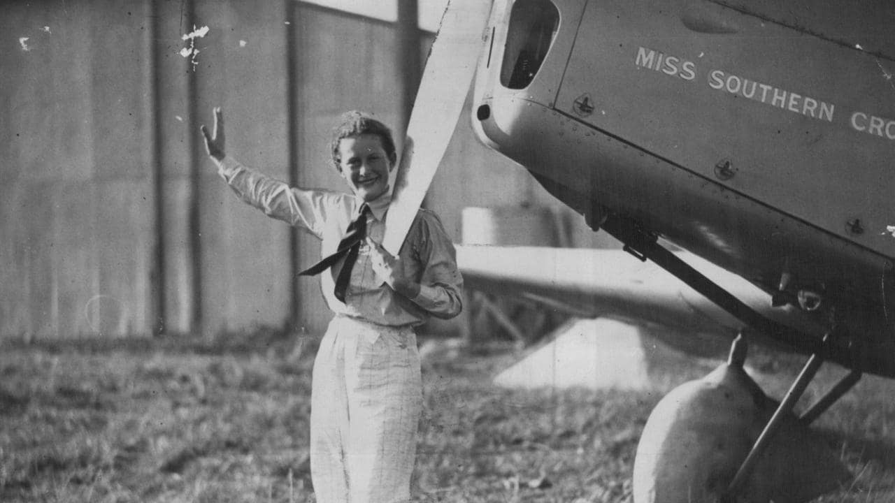 Pioneering pilot Nancy-Bird Walton. Her name was first Nancy Bird. When she married Charles Walton she preferred to be known as Nancy-Bird Walton, her husband's nickname for her.
